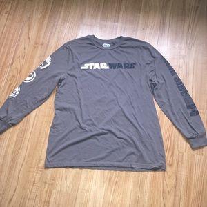 Star Wars Gray Long Sleeved T-shirt